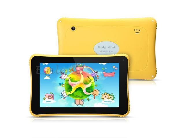 7 Inch Tablet for Kids Android 4.2 RK3026 Dual Core WIFI USB-OTG Camera Yellow