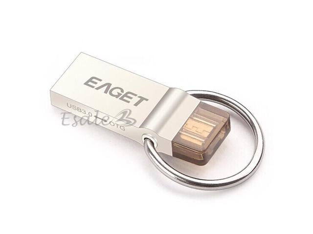EAGET 32GB V90 USB 3.0 Intelligent Waterproof USB Flash Drives for Phone ipad