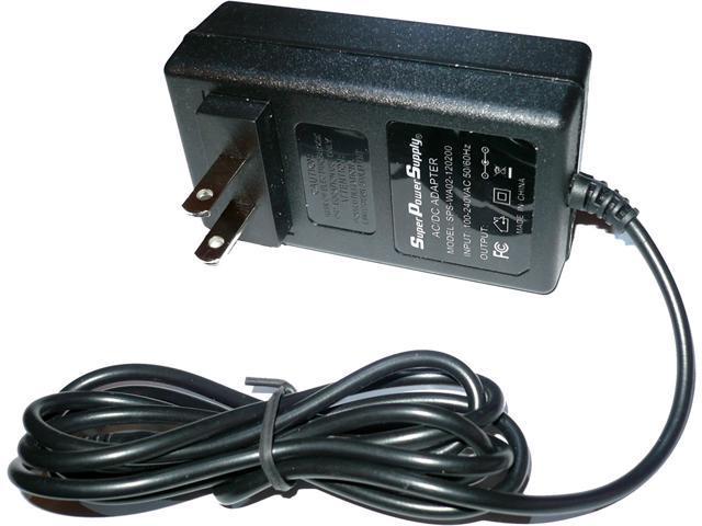 Super Power Supply® AC/DC Adapter Cord Western Digital Wd My Book External Hard Drive HDD Wdbaaf0015hbk-eesn; Wdbaah6400ech Wdbaah6400ech-aesn ...