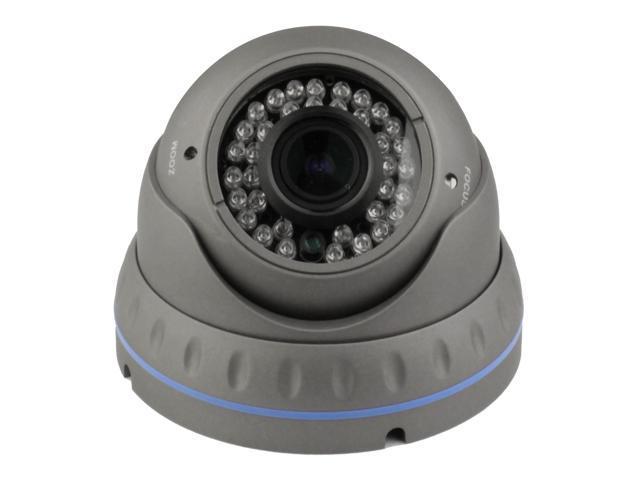 Indoor/Outdoor Aluminum Vandal-proof IR Security Surveillance Dome Camera 720TVL 960H 1/3