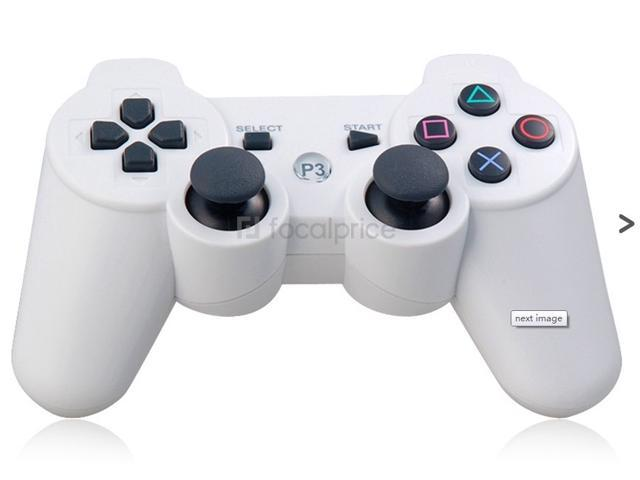 Six-Axis DualShock Wireless Controller for PlayStation 3 (White)