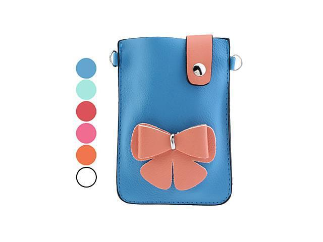 Flower Pattern PU Leather Pouches for Samsung Galaxy Note I9220 (Assorted Colors)