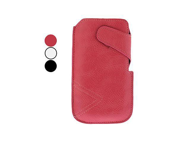 Magic Tape Design PU Leather Pouches for Samsung Galaxy S4 I9500 and I9300 (Assorted Colors)