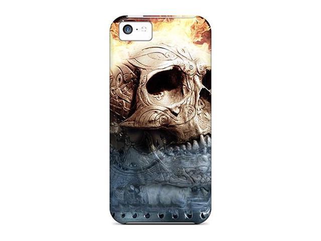 [aRkZa16381uVWPY] - New Skull Protective Iphone 5c Classic Hardshell Case