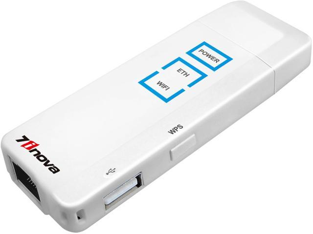 7INOVA 7R508 150Mbps Portable Wireless-N WiFi Router