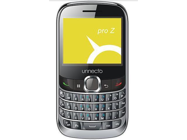 Unnecto U-240-2NA PRO Z Touchscreen QWERTY Grey Dual SIM- US Warranty- Unlocked Quadband GSM Phone