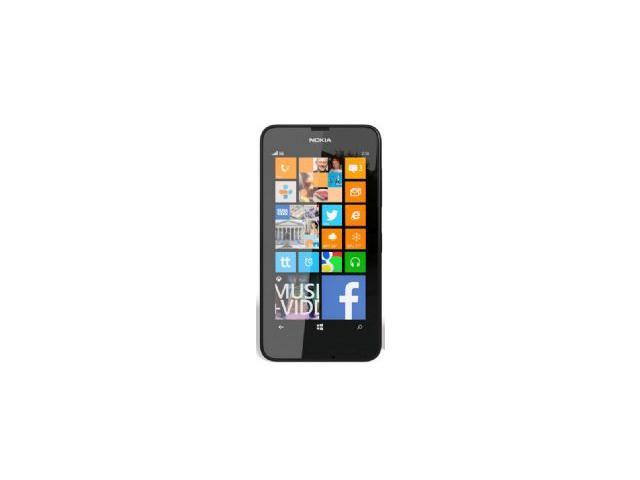 Nokia Lumia 630 Dual SIM Black (Unlocked Quadband) Windows Phone 8.1