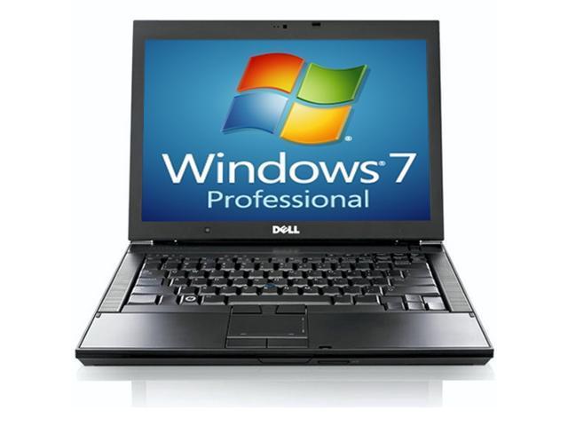 Dell Laptop Latitude E6410 WEBCAM - Core i5 2.40GHz - 4GB RAM - 120GB Hard drive - DVDRW - Windows 7 Pro