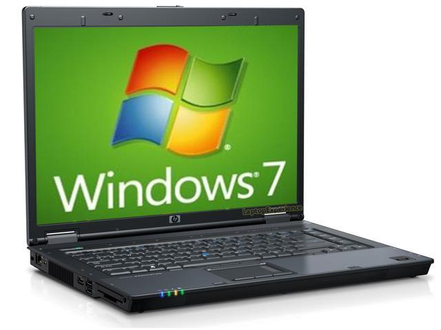 HP 8510p Laptop - Core 2 Duo 2.2ghz - 2GB DDR2 - 120GB HDD - DVD+CDRW - Windows 7 Home Prem- HDMI