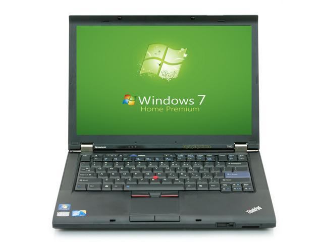 Lenovo Laptop ThinkPad T410 Notebook Computer Core i5 2.4GHz - 4GB DDR3 - 250GB - DVDRW - Windows 7 Home Premium 64bit