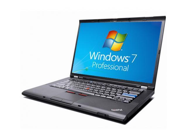 Lenovo Laptop ThinkPad T400 Notebook - WEBCAM - Core 2 Duo 2.40GHz - 4GB DDR3 - 160GB - DVDRW - Windows 7 Pro 64bit