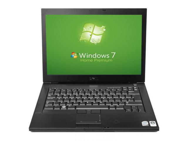 Dell Latitude E5400 Laptop - Intel 2.0GHz - 1GB RAM - 60GB Hard drive - DVD+CDRW - Windows 7 Home Premium