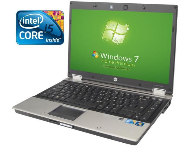 HP Elitebook 8440p Laptop WEBCAM - Core i5 2.4ghz - 4GB DDR3 - 160GB HDD - DVDRW - Windows 7