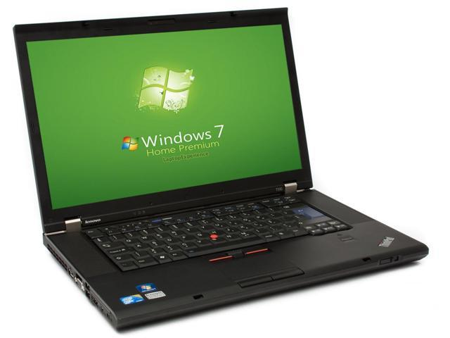 Lenovo ThinkPad T510 Laptop Notebook WEBCAM - Core i5 2.4ghz - 4GB DDR3 - 160GB HDD - DVDRW - Windows 7