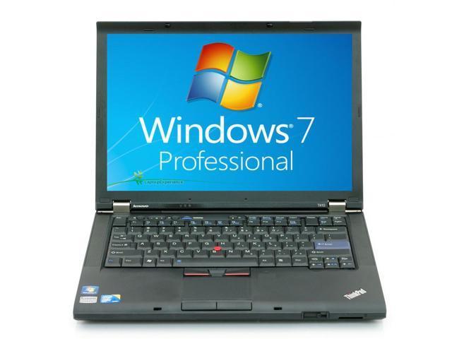 Lenovo ThinkPad T410 Laptop Notebook - Core i5 2.53ghz - 2GB DDR3 - 500GB HDD - DVDRW - Windows 7 Pro