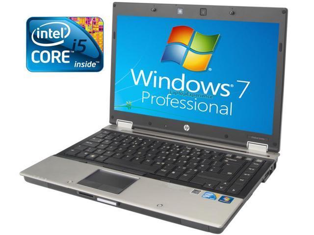 HP Elitebook 8440p Laptop WEBCAM - Core i5 2.4ghz - 4GB DDR3 - 250GB HDD - DVDRW - Windows 7 Pro