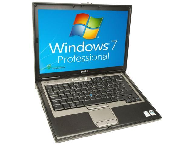 Dell Latitude D630 Laptop Notebook - Core 2 Duo 1.80GHz - 2GB DDR2 - 60GB - DVD/CDRW Windows 7 Pro