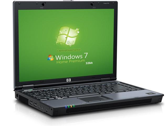 HP 6510b Laptop Notebook - Core 2 Duo 1.8GHz - 1GB - 80GB HDD - DVD+CDRW - Win 7 Home Premium 32bit