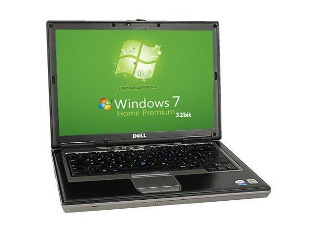 Dell Latitude D620 Laptop Notebook - Intel Core Duo 1.60GHz - 2GB DDR2 - 60GB - DVD+CDRW - Windows 7 Home 32bit