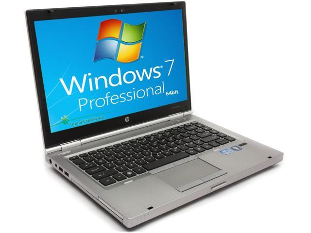 HP Elitebook 8460p Laptop WEBCAM - Core i5 2.5ghz - 3GB DDR3 - 250GB HDD - DVDRW - Windows 7 Pro