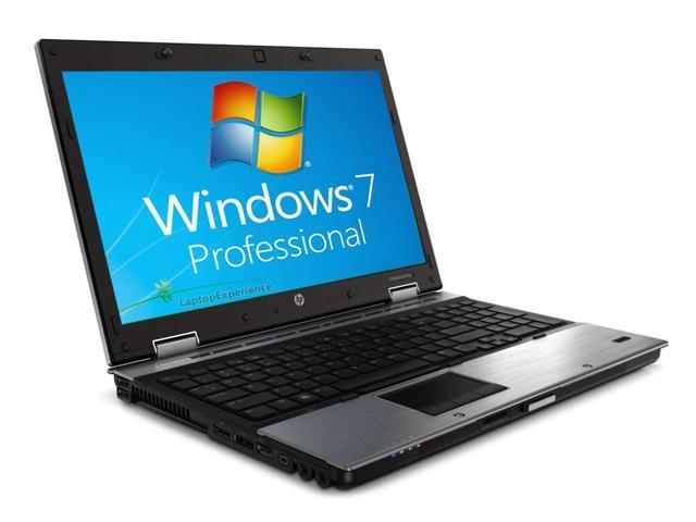HP Elitebook 8540p Laptop - Core i5 2.53ghz - 4GB DDR3 - 250GB HDD - DVDRW - Windows 7 Pro 64bit