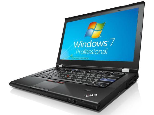 Lenovo ThinkPad T420 Laptop WEBCAM - i5 2.50ghz - 3GB DDR3 - 320GB - DVDRW - Windows 7 Pro 64bit