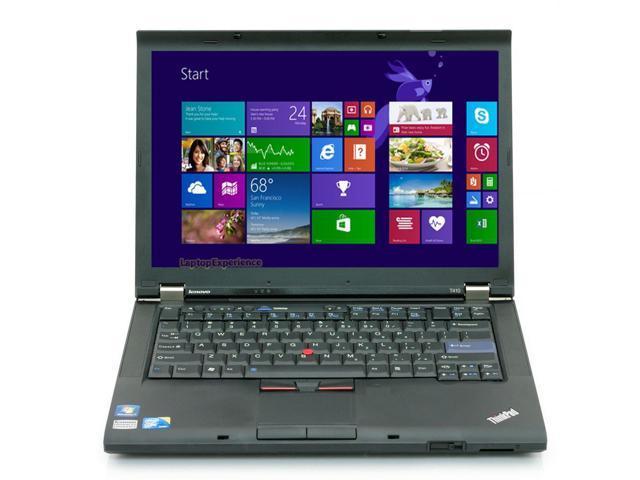 Lenovo ThinkPad T410 Laptop Notebook - i5 2.40ghz - 4GB DDR3 - 320GB HDD - DVDRW - Windows 8.1 64bit