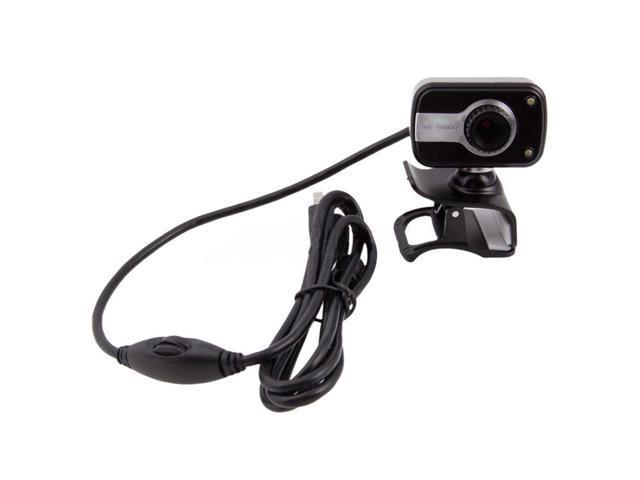 New High-Definition USB 1.0/2.0 CMOS 30fps 8 Mega Webcam For Laptop Camera Black