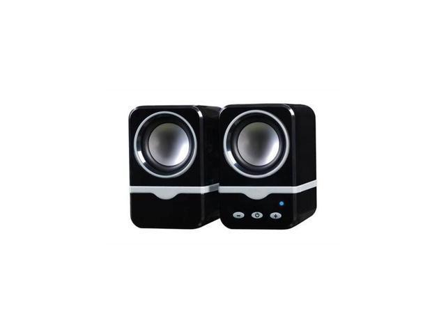 Bluetooth Digital Speakers Black for PC Notebook MP3 iPad iPhone