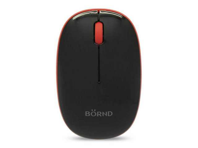 New Bornd E220 2.4GHz Optical Wireless Mouse (Black)