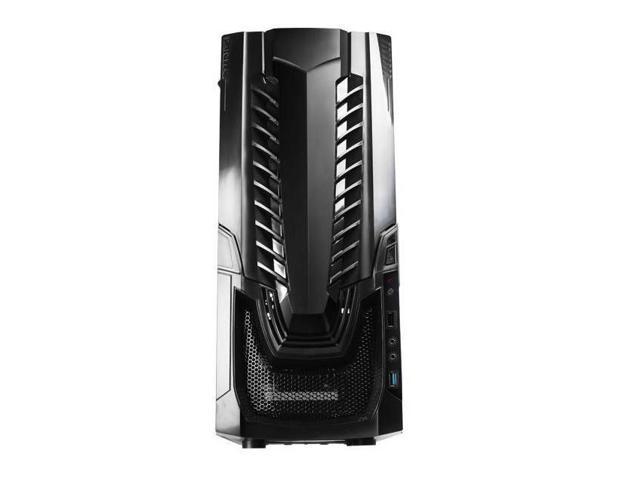 Raidmax Horus ATX-322WB No Power Supply ATX Mid Tower Gaming Case (Black)