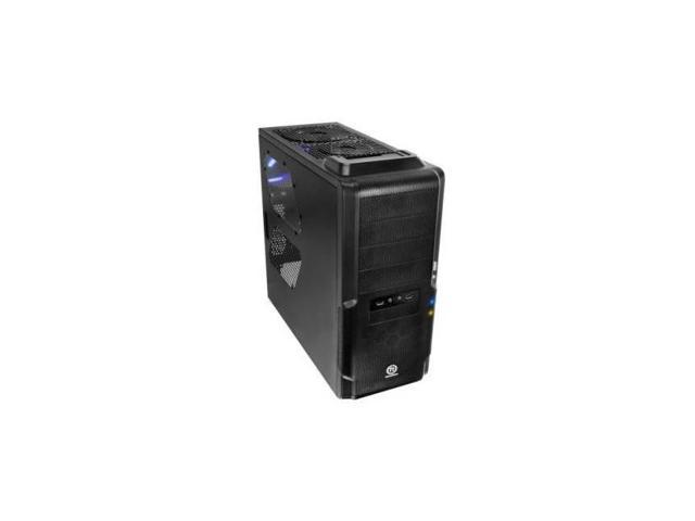 NEW Mid Tower Case w/ Docking Station Black