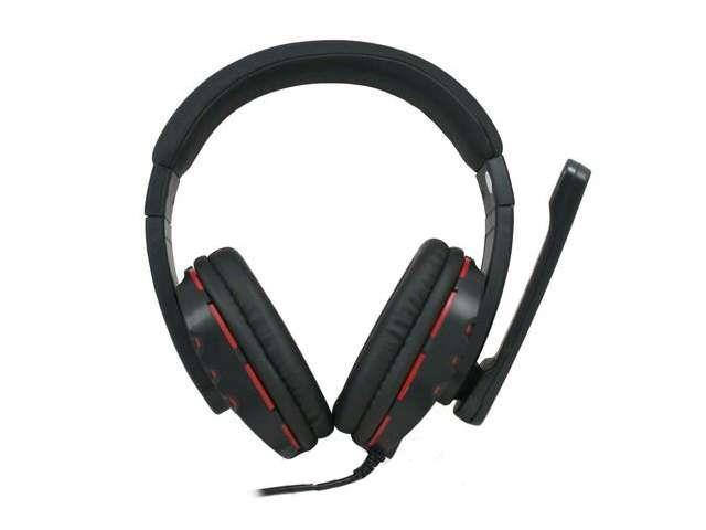 New Studio 4 Professional High Bass Digital Stereo On-Ear Headphone w/ Mic Black/Red