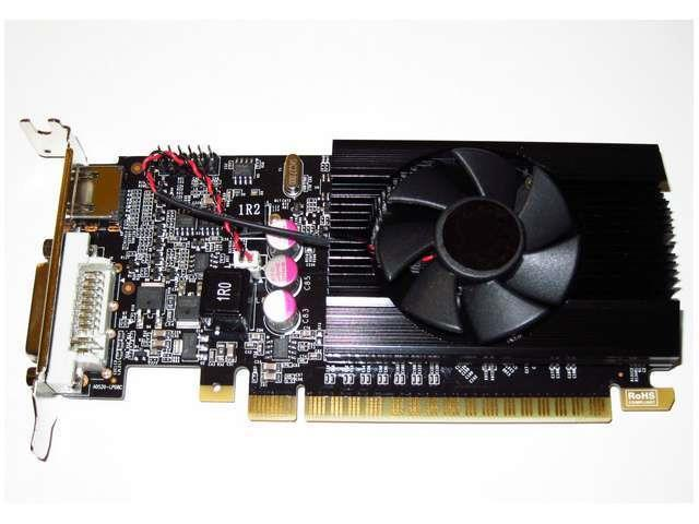 2GB Half Height Low Profile SFF Dual Monitor Display View HD Video Graphics Card