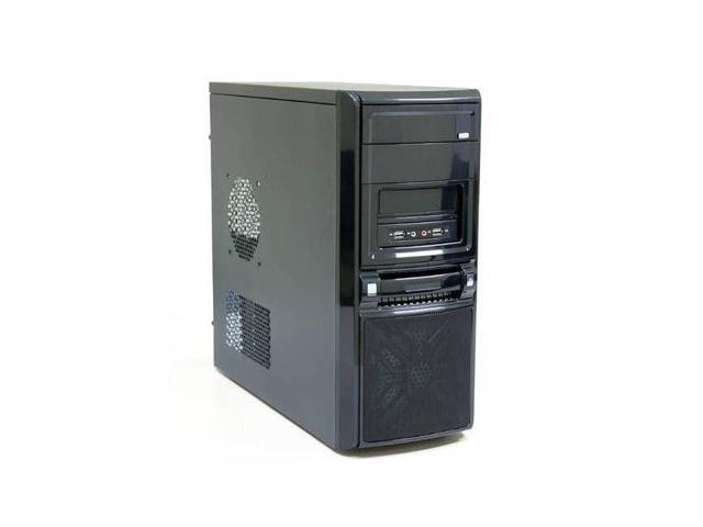 iMicro CA-IM1809B No Power Supply ATX Mid Tower Case (Black)