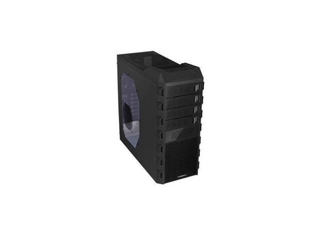 NEW Raidmax Altas ATX-295WB No Power Supply ATX Mid Tower Case (Black)