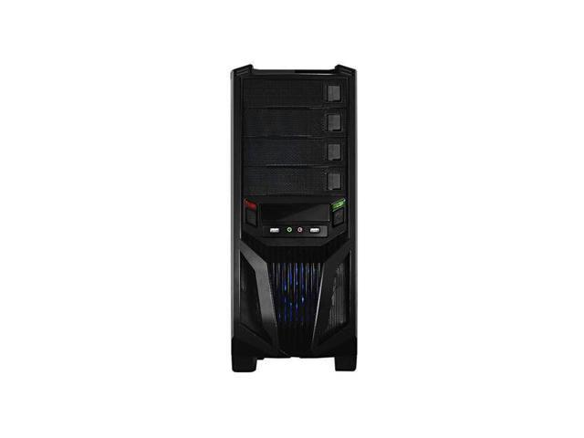 NEW Raidmax Blade ATX-298WB No Power Supply ATX Mid Tower Case (Black)-- Computer Case