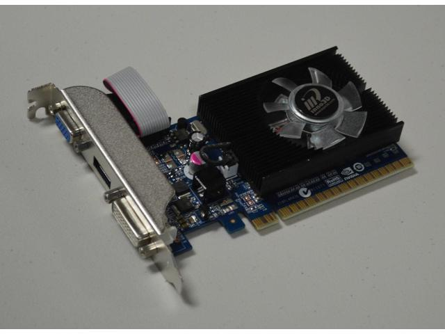 nVidia GeForce 1GB DDR3 VGA/DVI/HDMI PCI-Express x 16 Video graphics Card shipping from US