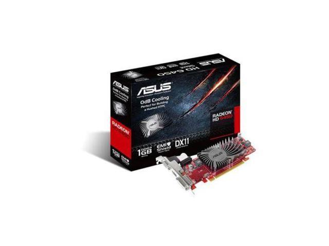 Asus ATI Radeon HD6450 Silence 1GB DDR3 HDMI Low Profile PCI E Video Card NEW