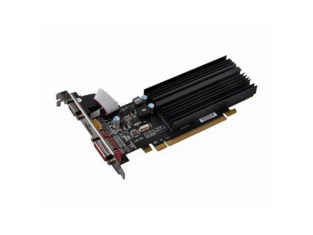 XFX AMD Radeon R5 230 1GB DDR3 VGA DVI HDMI Low Profile PCI Express Video Card
