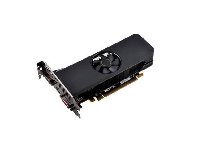 XFX AMD Radeon R7 240 4GB DDR3 VGA DVI HDMI Low Profile PCI Express Video Card