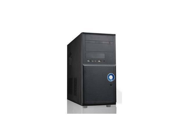 iMicro CA-IM1205B 400W 20+4pin Mini ATX Mini Tower Case (Black)