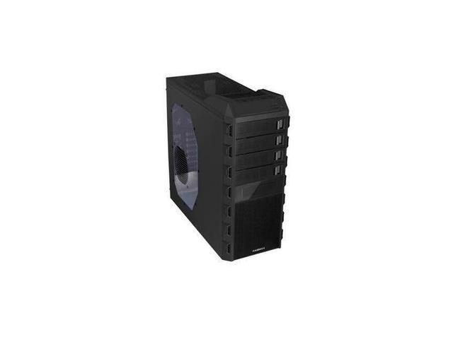 NEW Raidmax Altas ATX-295WB No Power Supply ATX Mid Tower Case (Black)