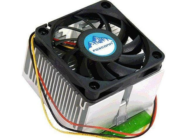 Foxconn CPU Cooler for Socket 370 and AMD Socket A Up to XP 1800+. OEM
