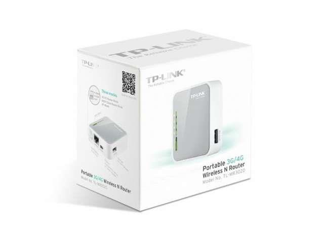 TP-Link TL-MR3020 Portable 3G/3.75G Wireless N Router--Brand NEW SEAL