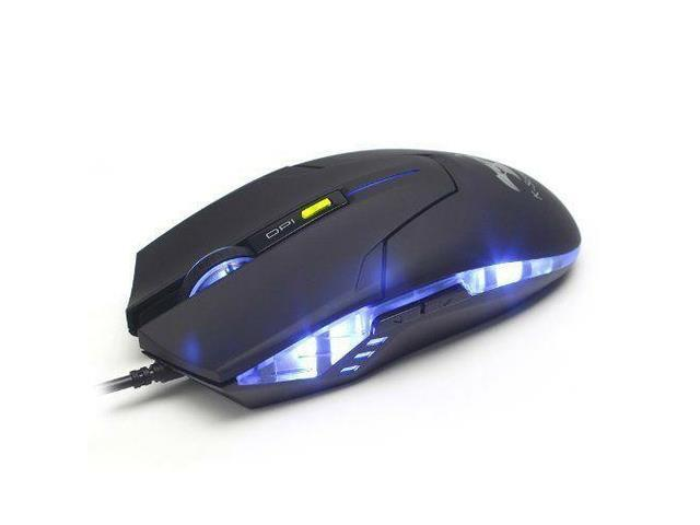 Qisan SM 8509II 1800DPI Blue LED Color 5 Button USB Wired Gaming Mouse