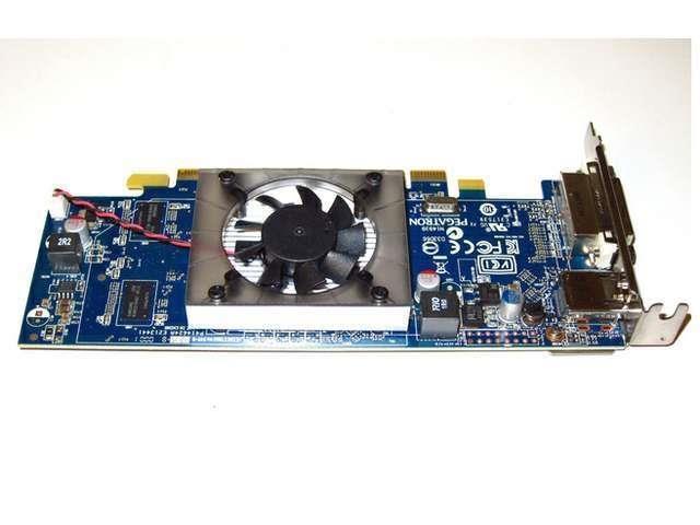 Low Profile Half Height AMD Radeon HD 1024MB 1GB PCI-E x16 Video Graphics Card