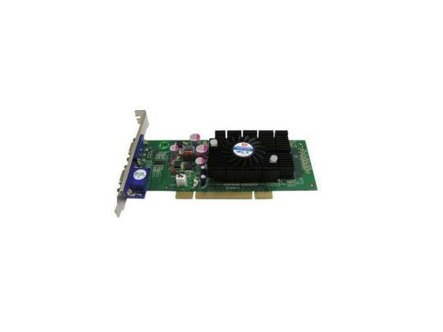 FREE SHIP JATON NVIDIA GeForce 6200 512MB DDR2 2VGA PCI Video Card