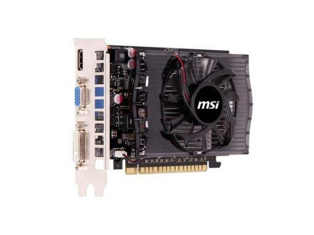 MSI NVIDIA GeForce GT 730 2GB DDR3 VGA DVI HDMI PCI Express Video Card