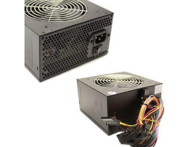 450 Watt 450W 120mm Fan ATX SATA POWER SUPPLY for Intel AMD Desktop PC PSU Unit